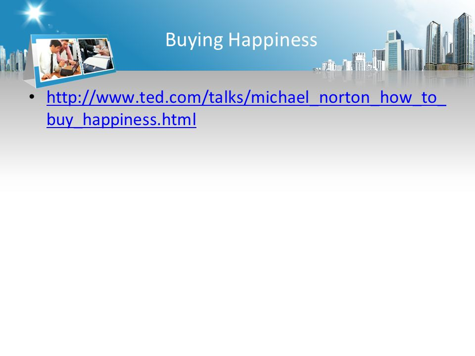 Buying Happiness   buy_happiness.html   buy_happiness.html