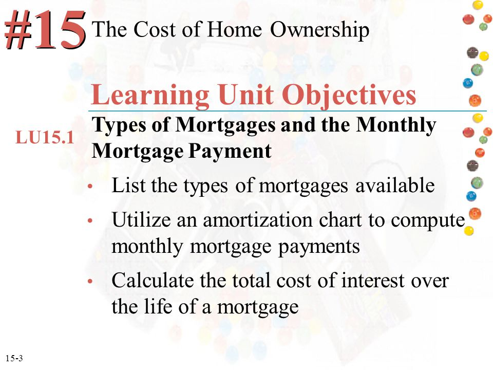 compute mortgage payments