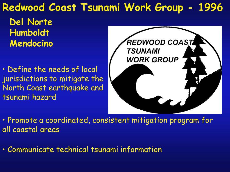 Tsunami Mitigation Efforts on California's North Coast. - ppt download