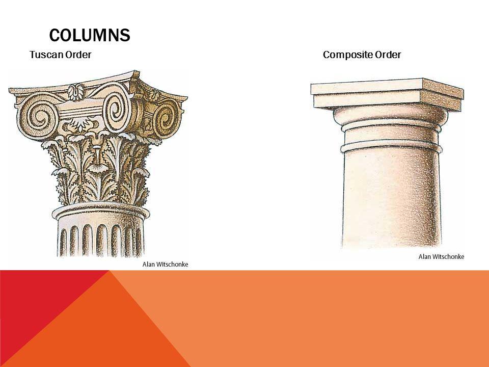 7 COLUMNS Tuscan OrderComposite Order