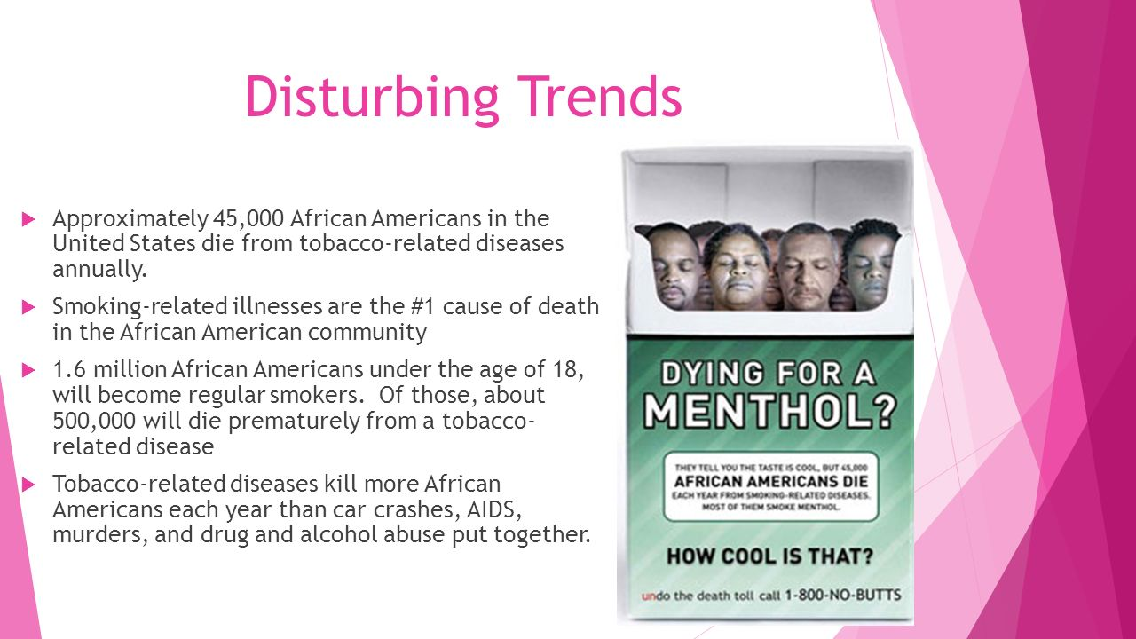 the shocking statistics of tobacco related diseases and deaths in america Here are some shocking american health statistics from health die every year from diseases directly related to disease is the leading cause of death among.