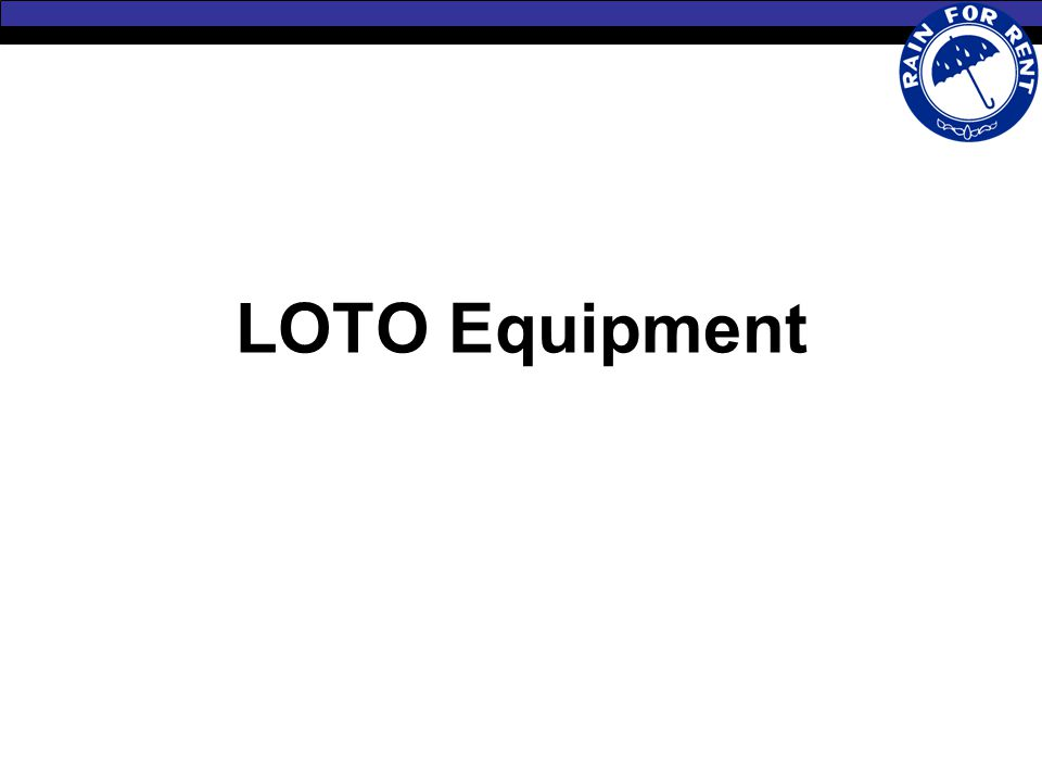 LOTO Equipment