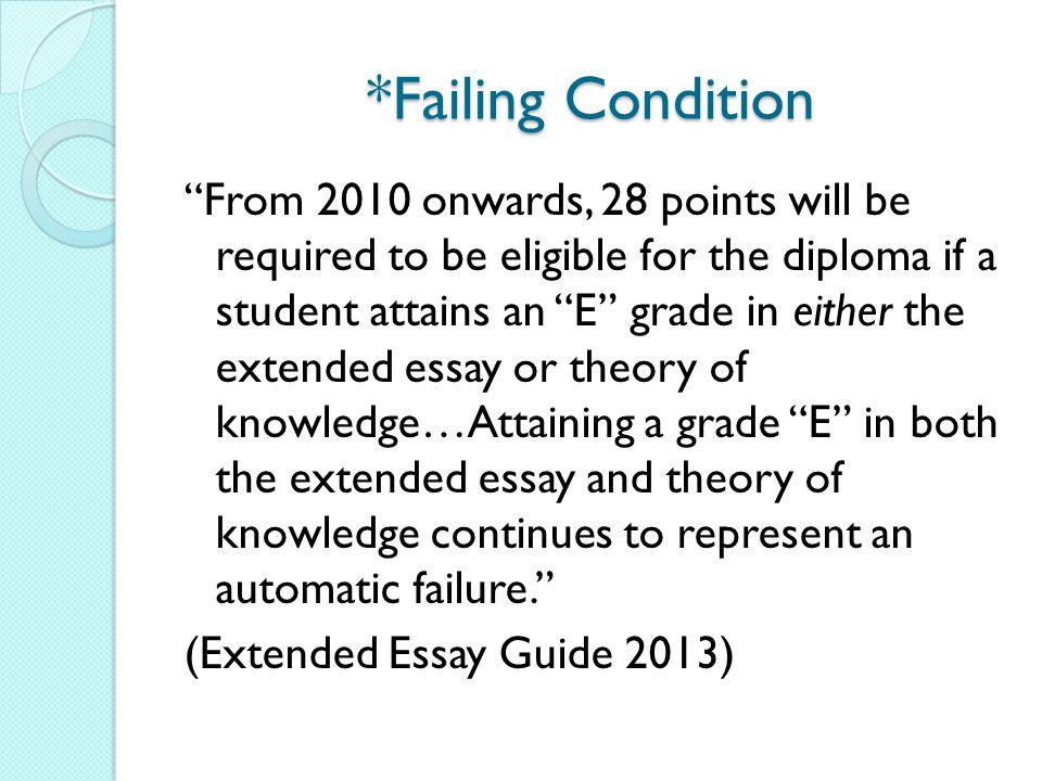 extended essay marking