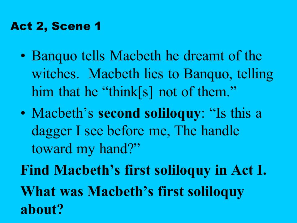 how does shakespeare dramatise the murder of duncan in act ii scenes i and ii essay