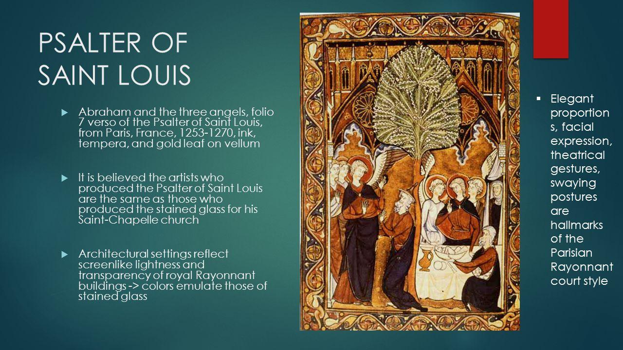 psautier de saint louis 1253
