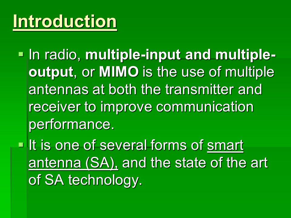 introduction to radio