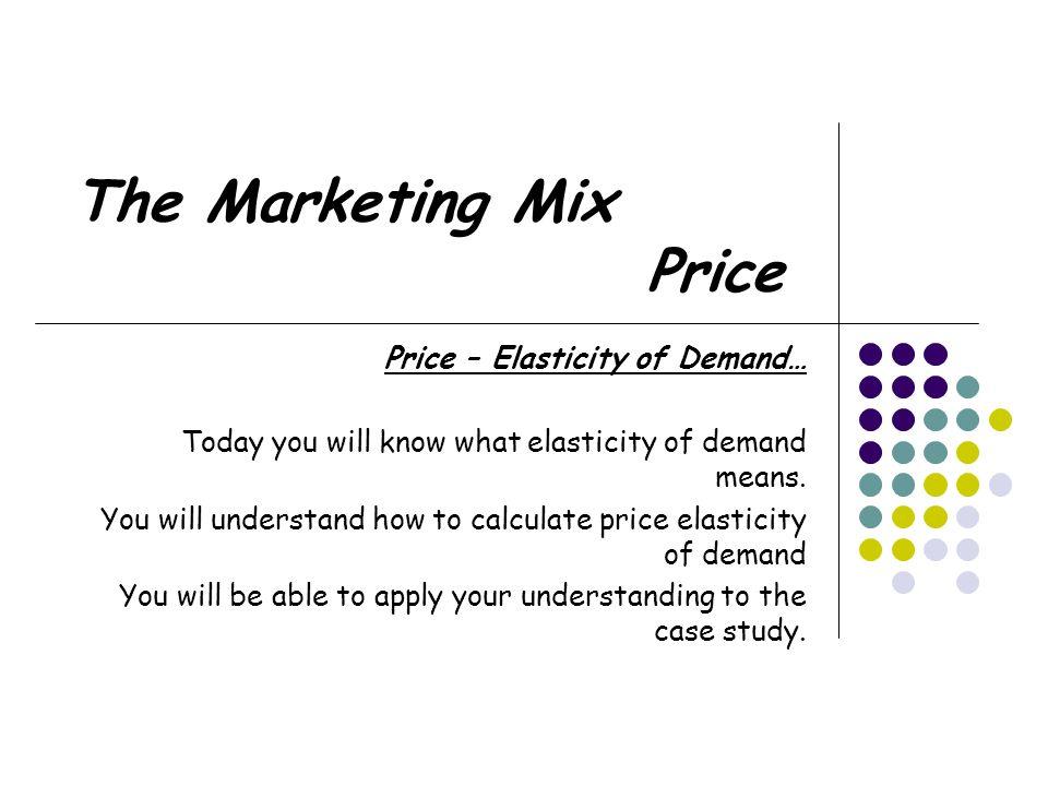 Case study  Marketing Mix   IRI