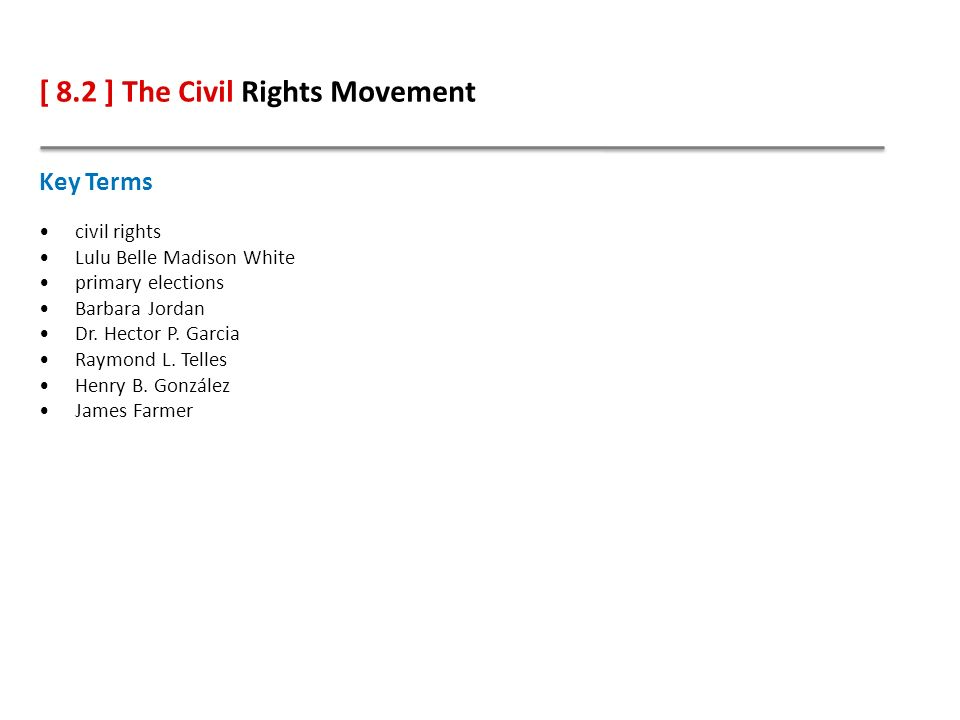 civil rights movement essay outline Civil rights movement the effort to integrate blacks and whites and to gain rights for everyone b in schools the civil rights movement outline author.
