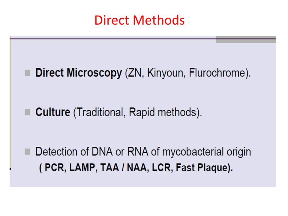 Direct Methods