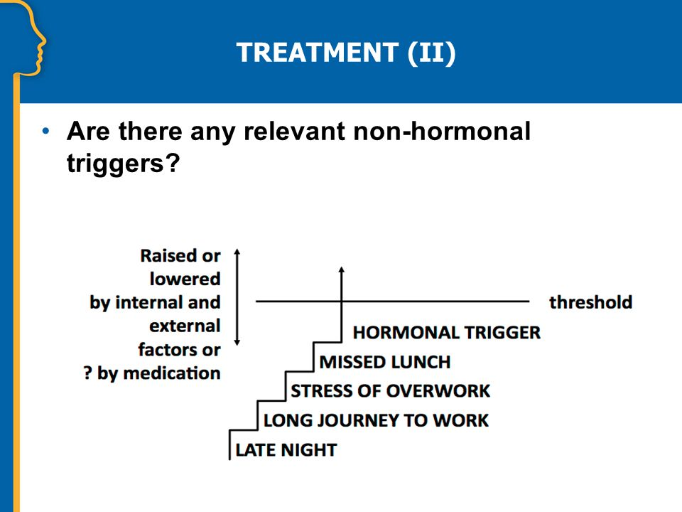 TREATMENT (II) Are there any relevant non-hormonal triggers