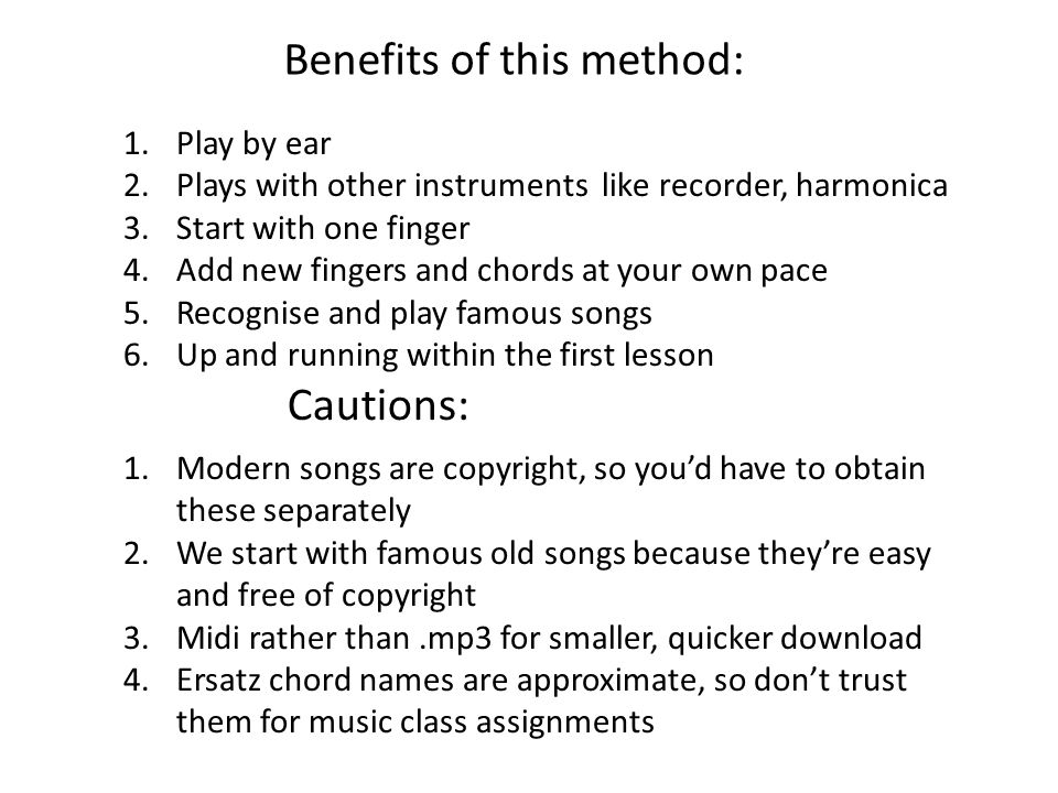 A Music Education System Applied To Guitar Tom Benjamin Phd This