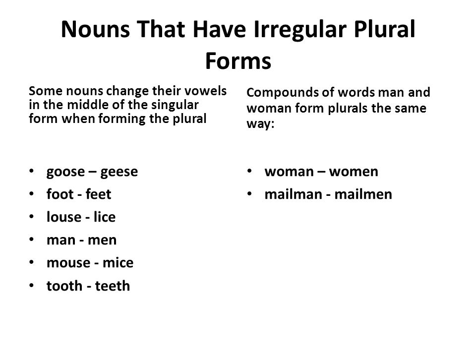 Plural Thesis