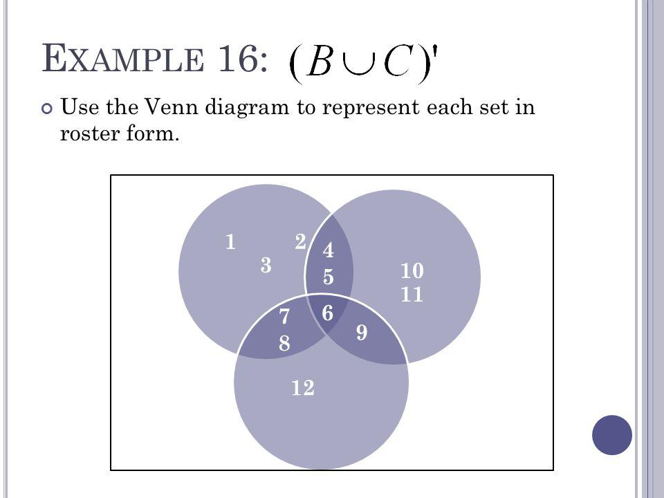 Venn Diagram Roster Form Keninamas