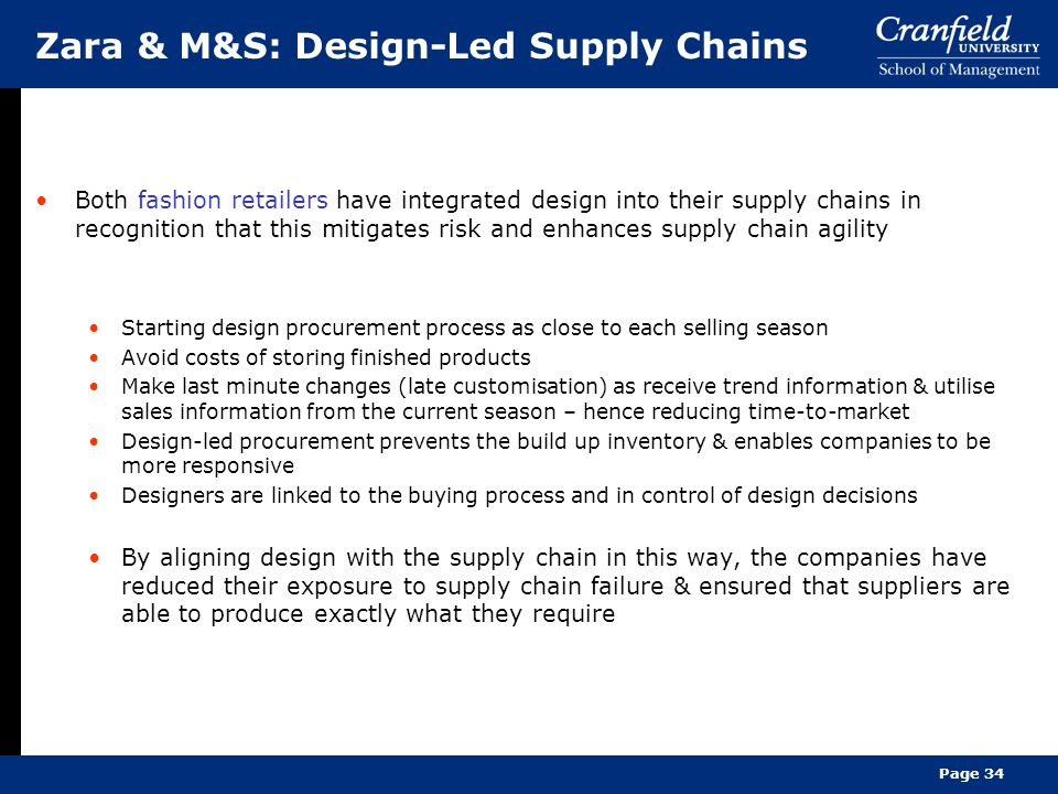 Reducing the Risk of Supply Chain Disruptions Supply Chain Zara Ppt Images