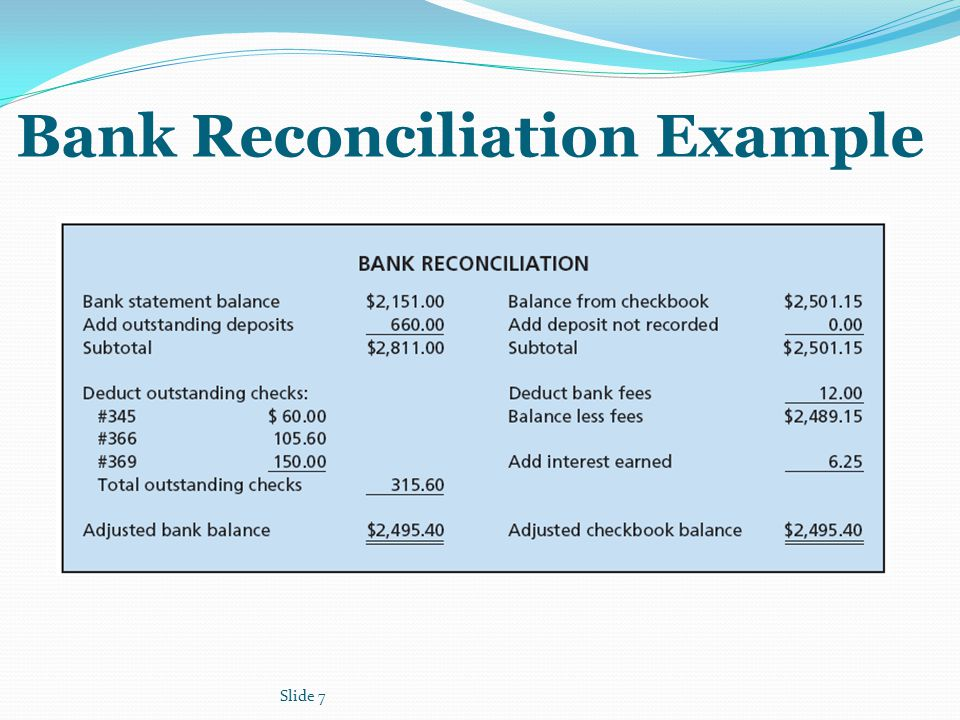 Bank Reconciliation Forms. Bank Reconciliation Statement Sample