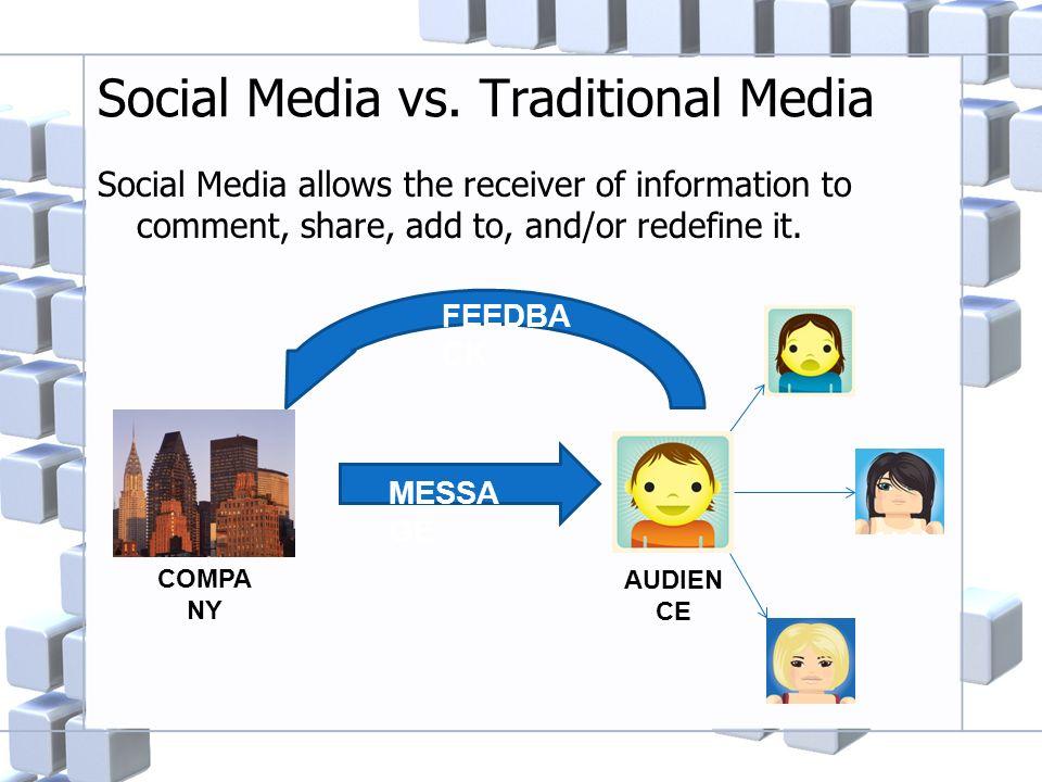 Social Media vs.