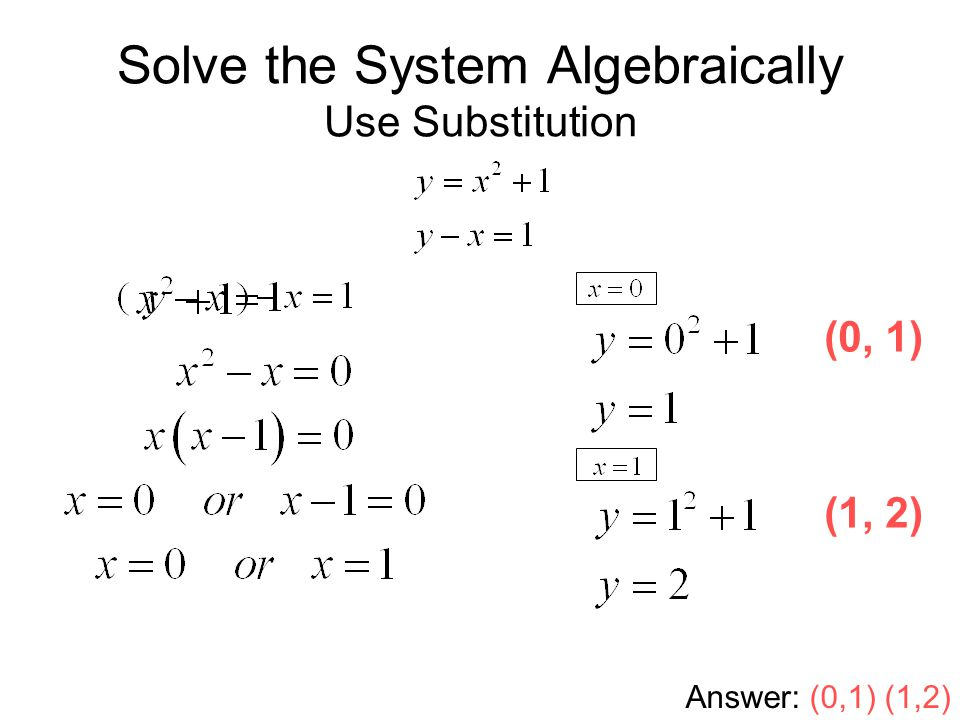 Solving Systems Of Equations By Substitution Worksheet Answers – System of Equations Substitution Worksheet