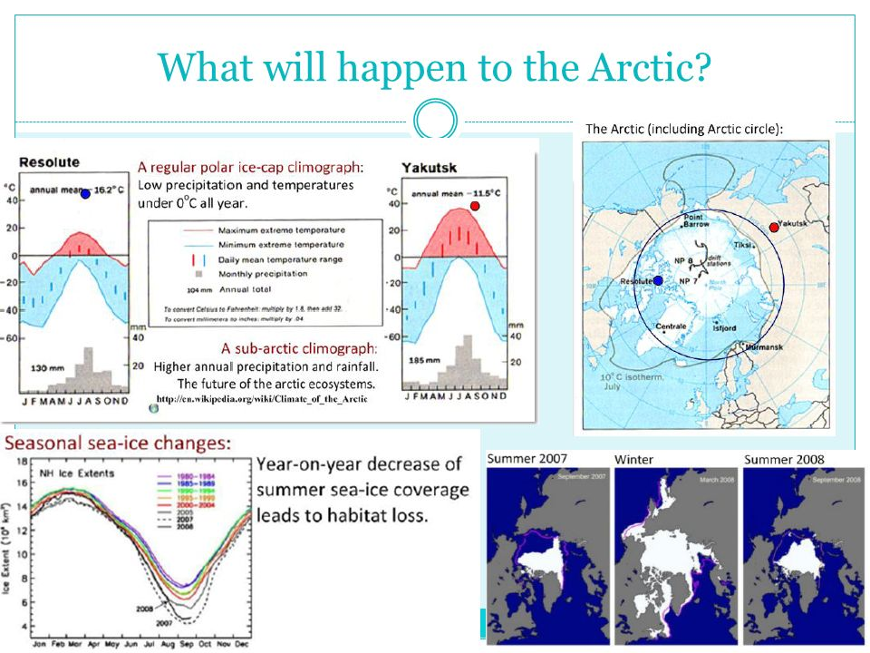 What will happen to the Arctic