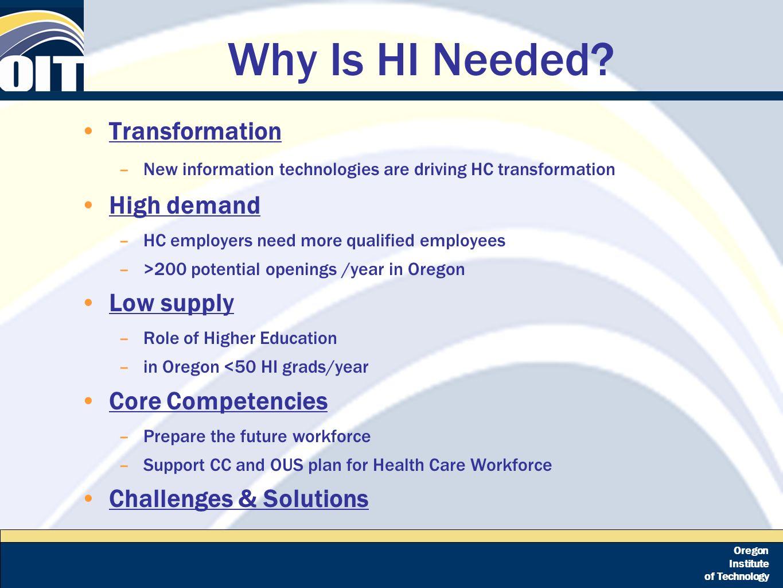 Oregon institute of technology health informatics an emerging 5 oregon xflitez Choice Image