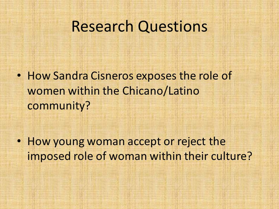 the struggles of latino women in the house on mango street by sandra cisneros