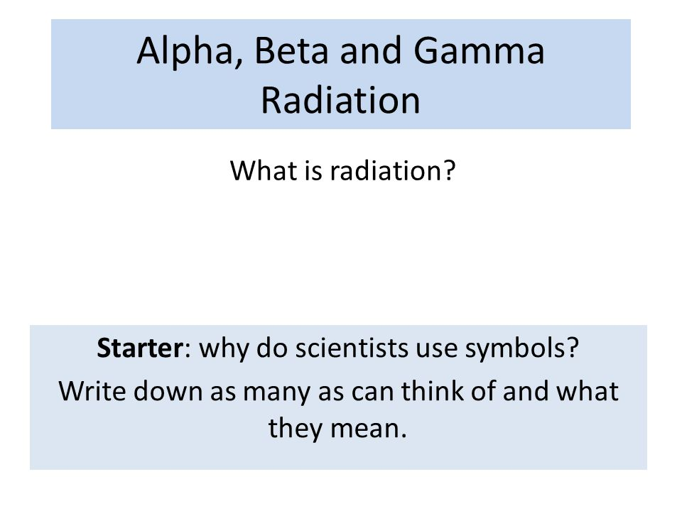 Does anyone know how to start an introduction to an essay about gamma rays?
