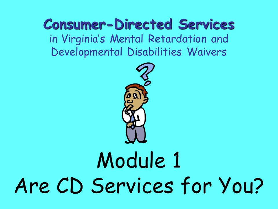 Module 1 Are CD Services for You.