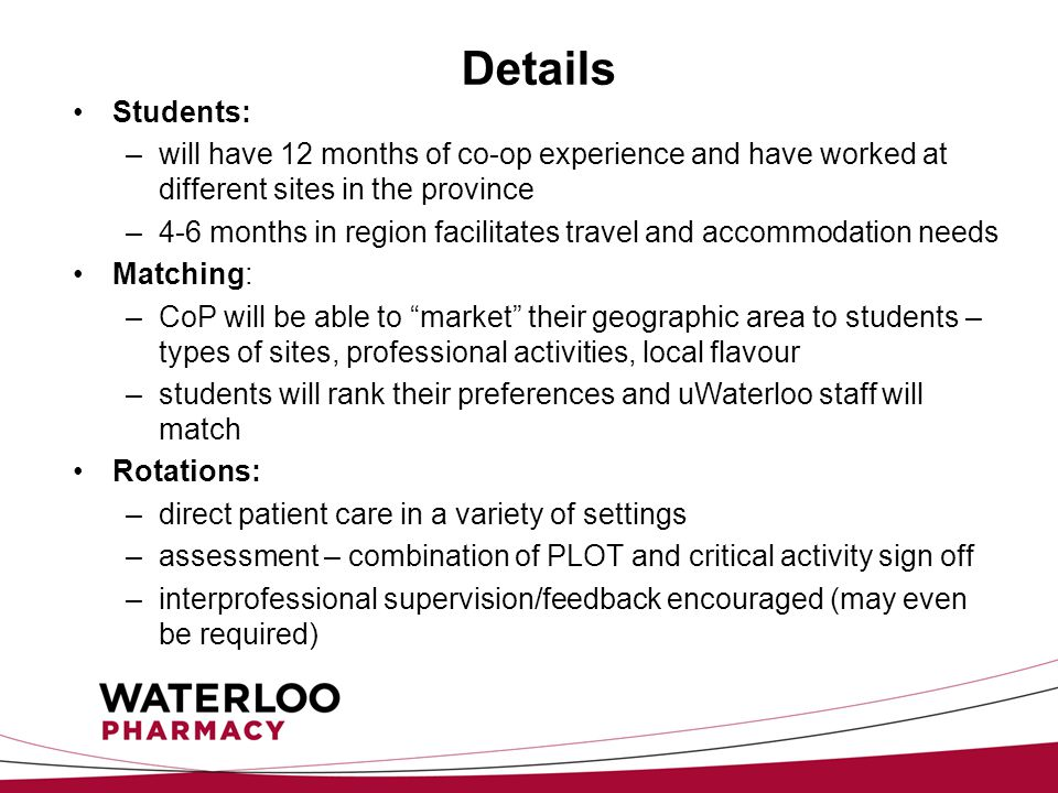 University of waterloo pharmd whats happening ppt download 9 details spiritdancerdesigns Images