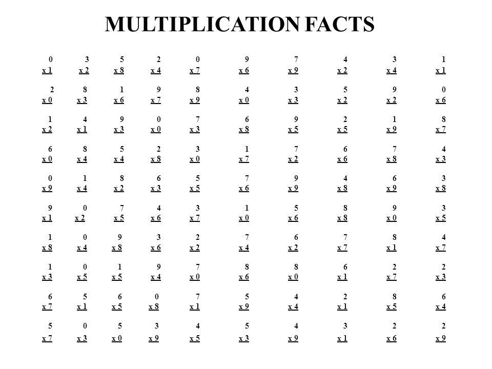 math worksheet : addressing the problem of basic computational abilities in a  : 0 1 2 Multiplication Worksheets