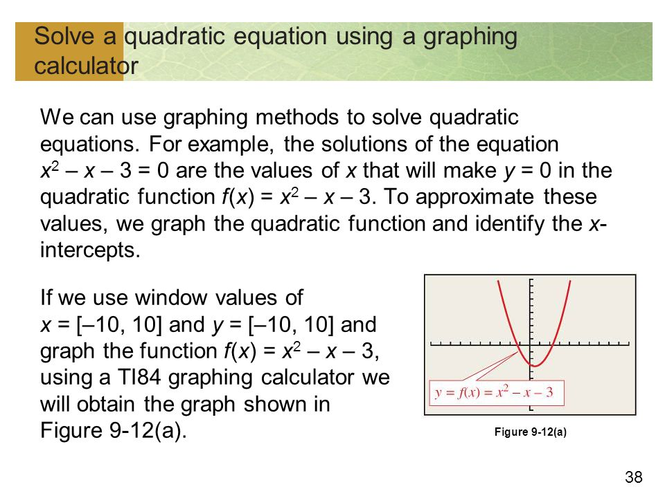 Copyright Cengage Learning All Rights Reserved Quadratic