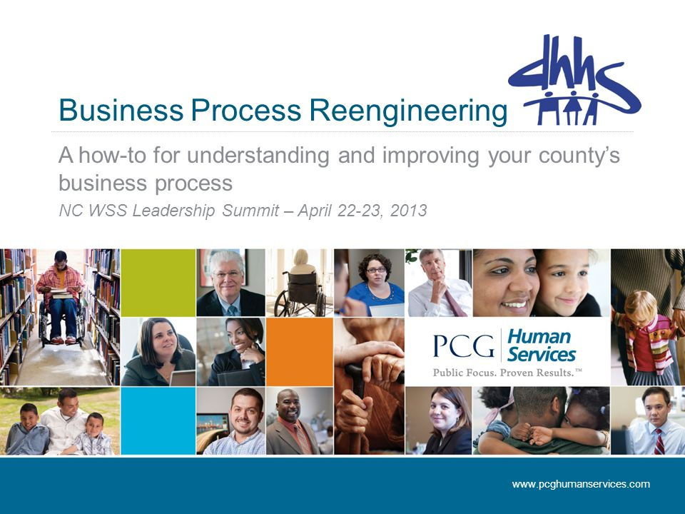 Business Process Reengineering A how-to for understanding and improving your county's business process NC WSS Leadership Summit – April 22-23,