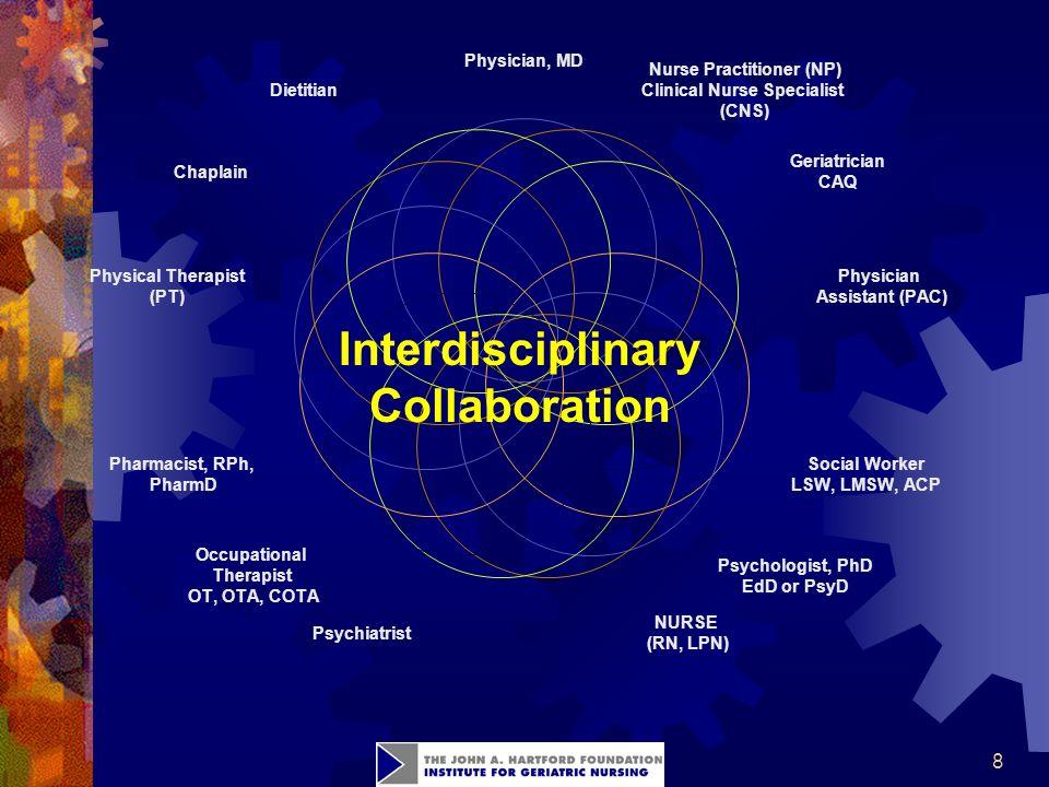 8 Interdisciplinary Collaboration