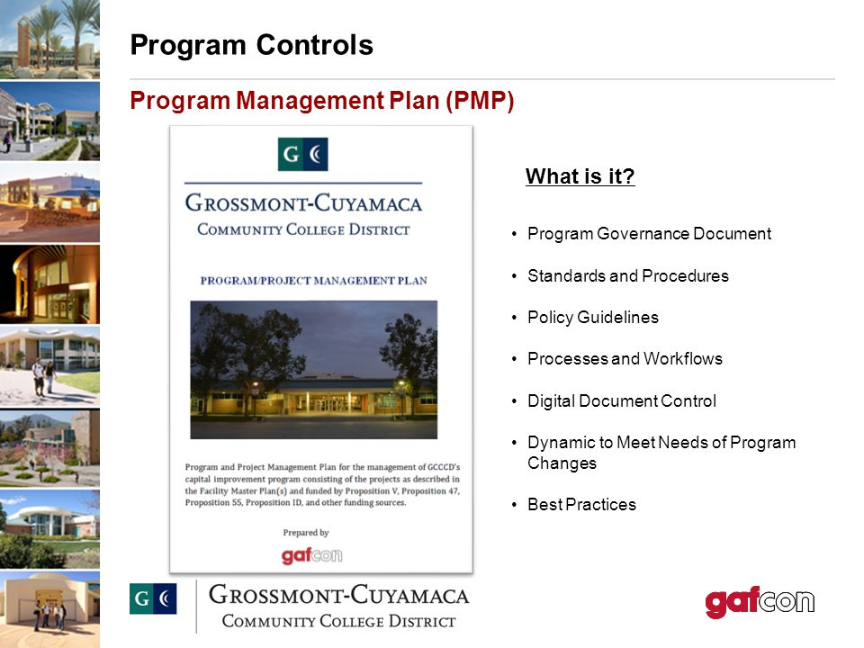 GrossmontCuyamaca Community College District Program Management
