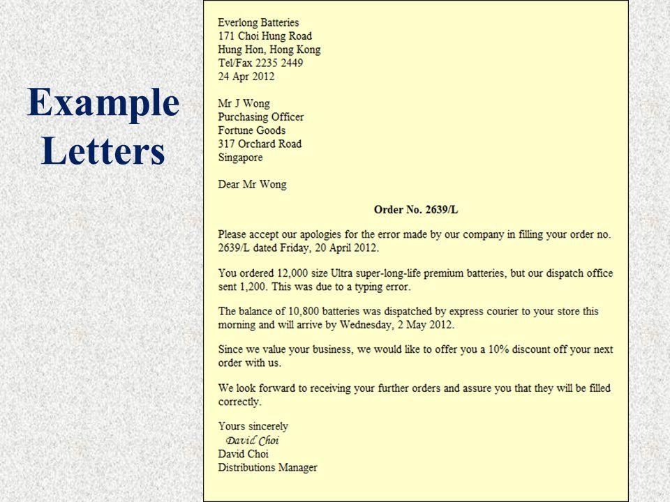 Cover Letter Purpose
