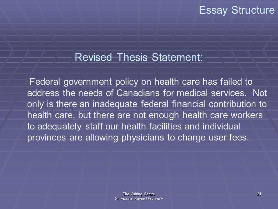 Should the government provide health care essay