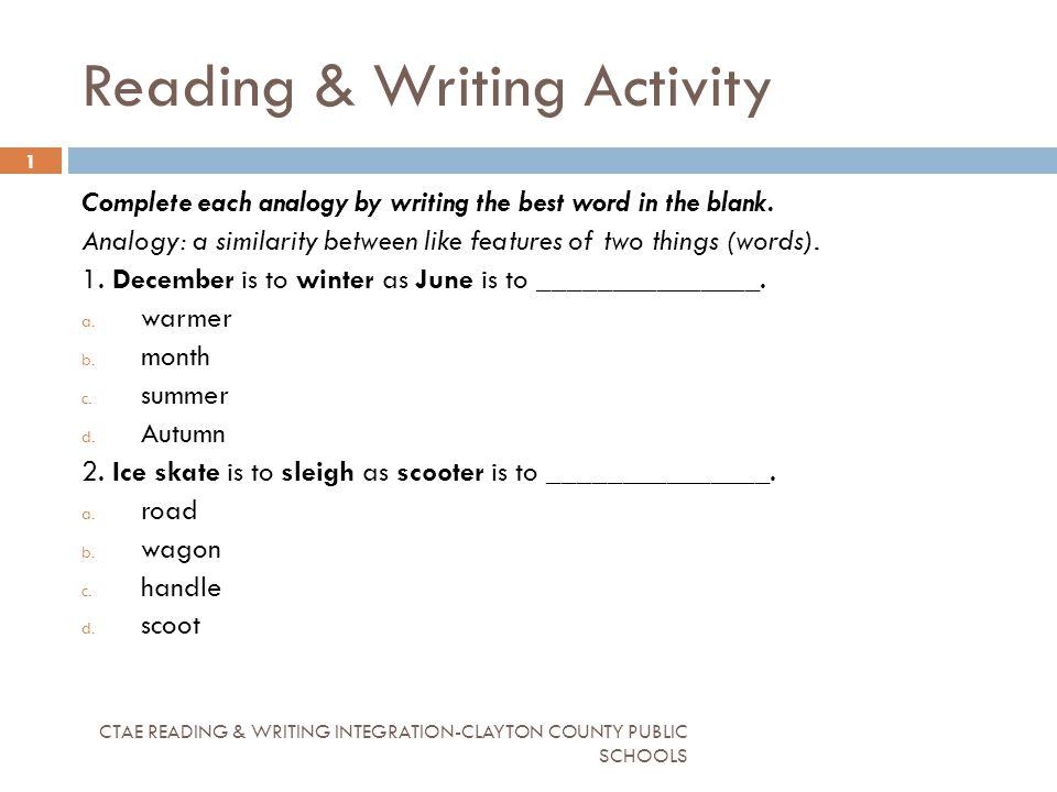 Writing schools