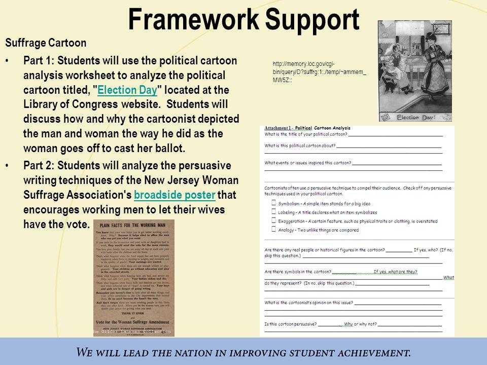 Library Of Congress Political Cartoon Analysis Worksheet – Political Cartoon Worksheet