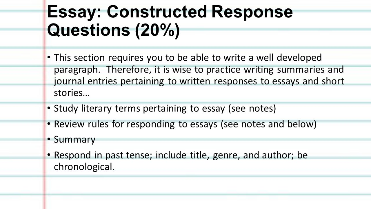 grade seven exam study guide exam review exam value 20% of 10 essay constructed