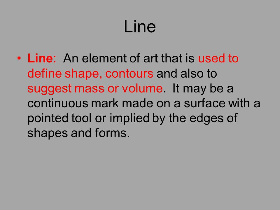 Define Elements Of Design : An introduction to the elements and principles of art design