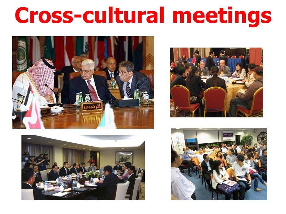 Cross-cultural meetings