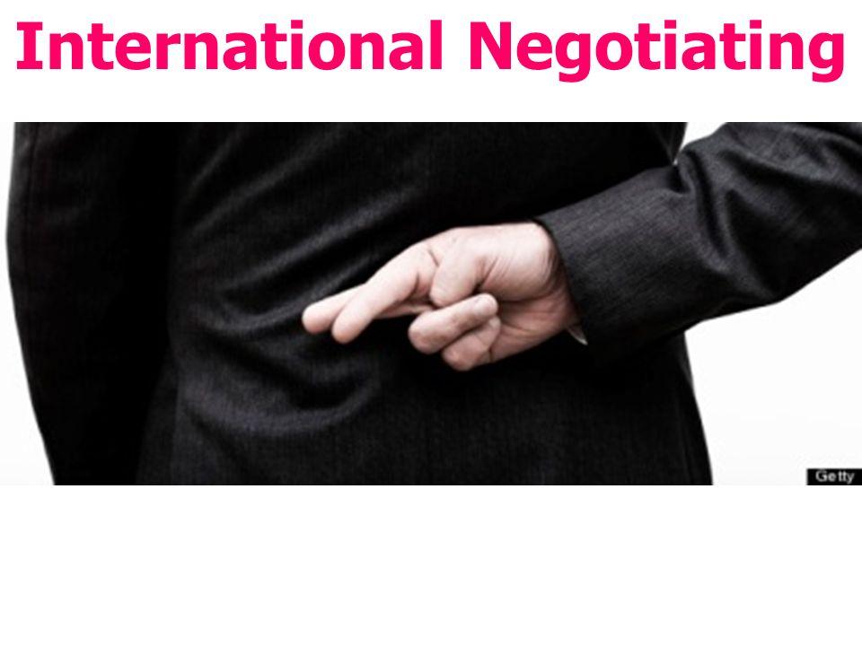 International Negotiating