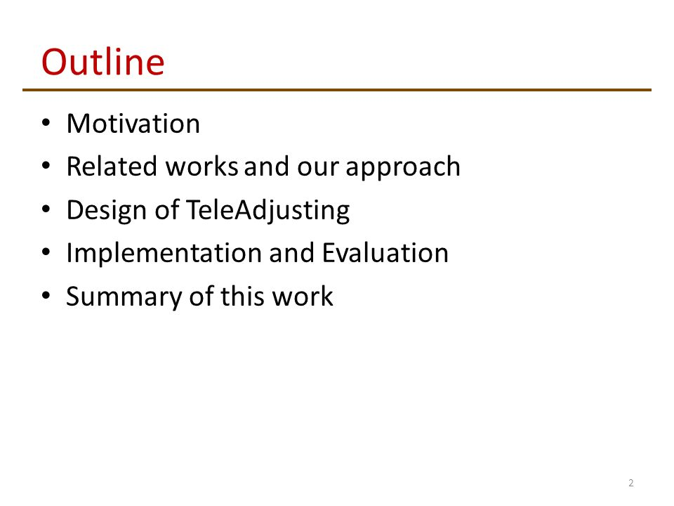 outline and evaluate the approach that