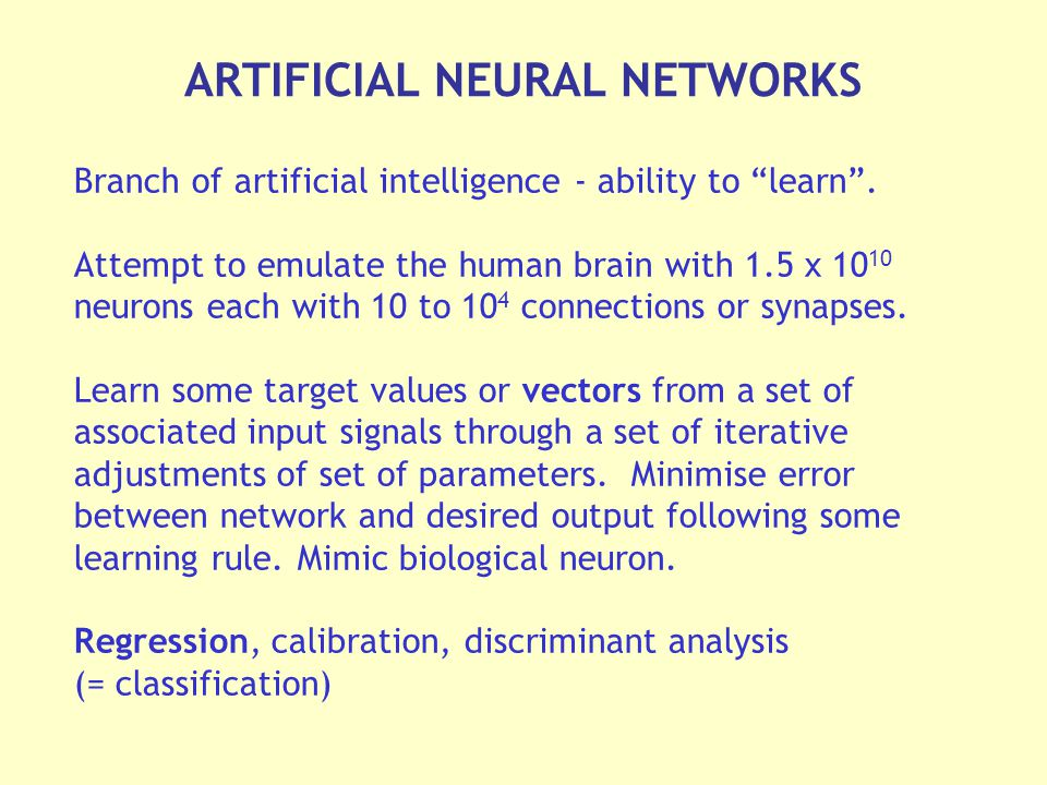 Branch of artificial intelligence - ability to learn .