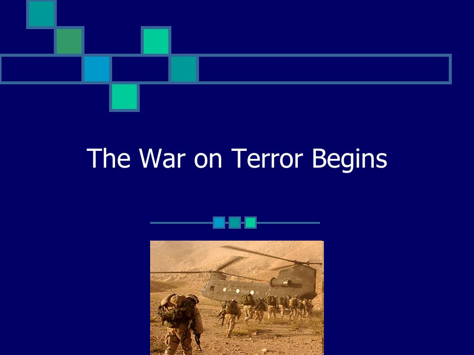 The War on Terror Begins