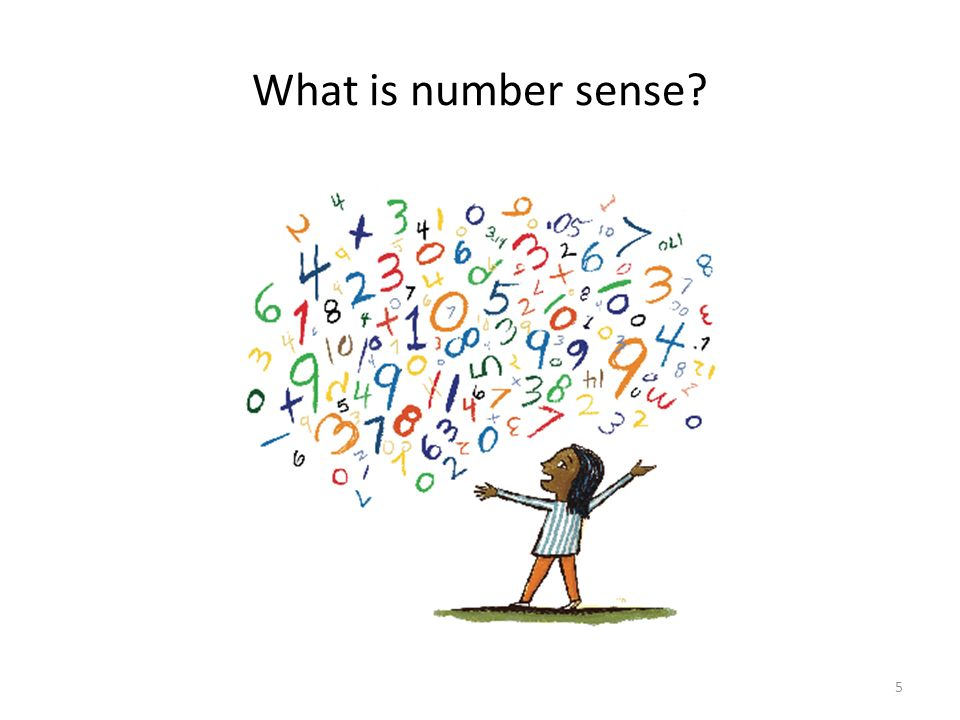 What is number sense 5