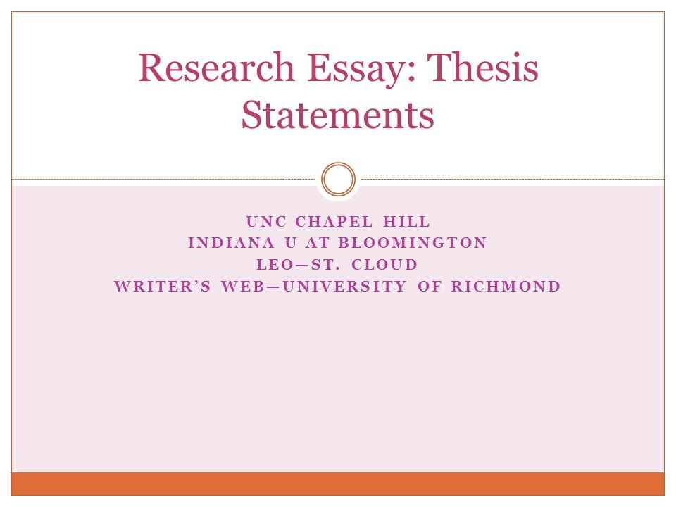 tesol thesis statement essay Guide to writing a literature review what is a literature review a literature review is a critical analysis of published sources, or literature, on a particular topic.