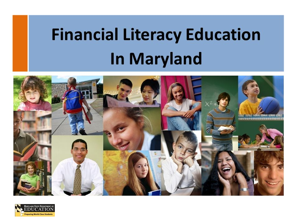 Financial Literacy Education In Maryland