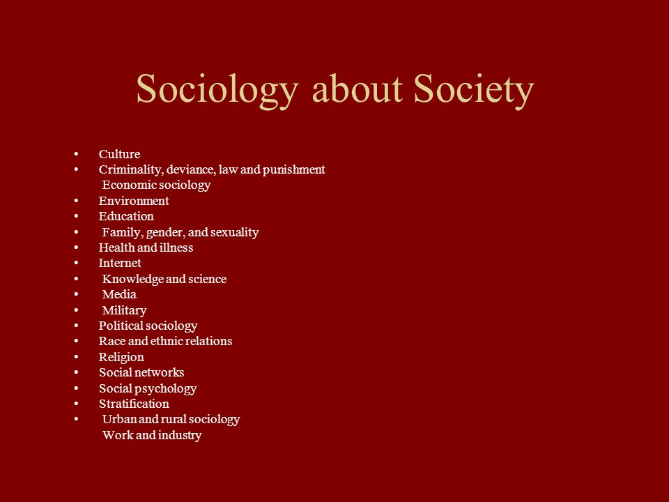 essay sociology family