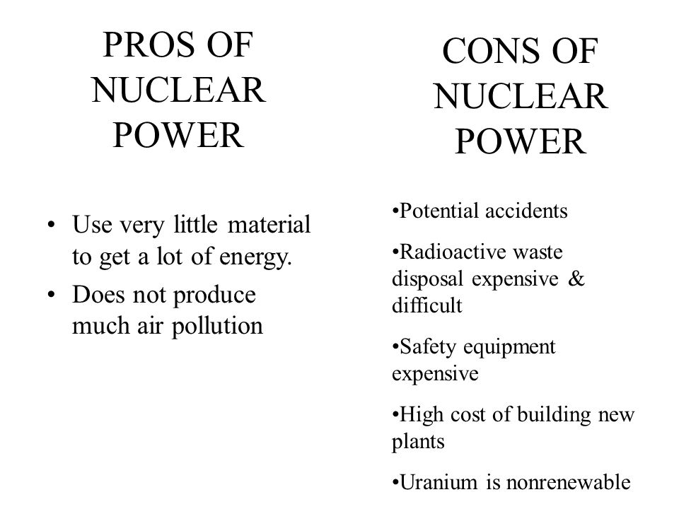 pros and cons of uranium energy - Primus Green Energy