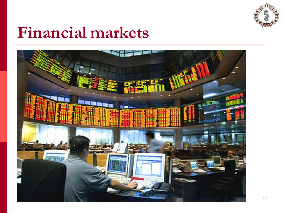 Financial markets 11