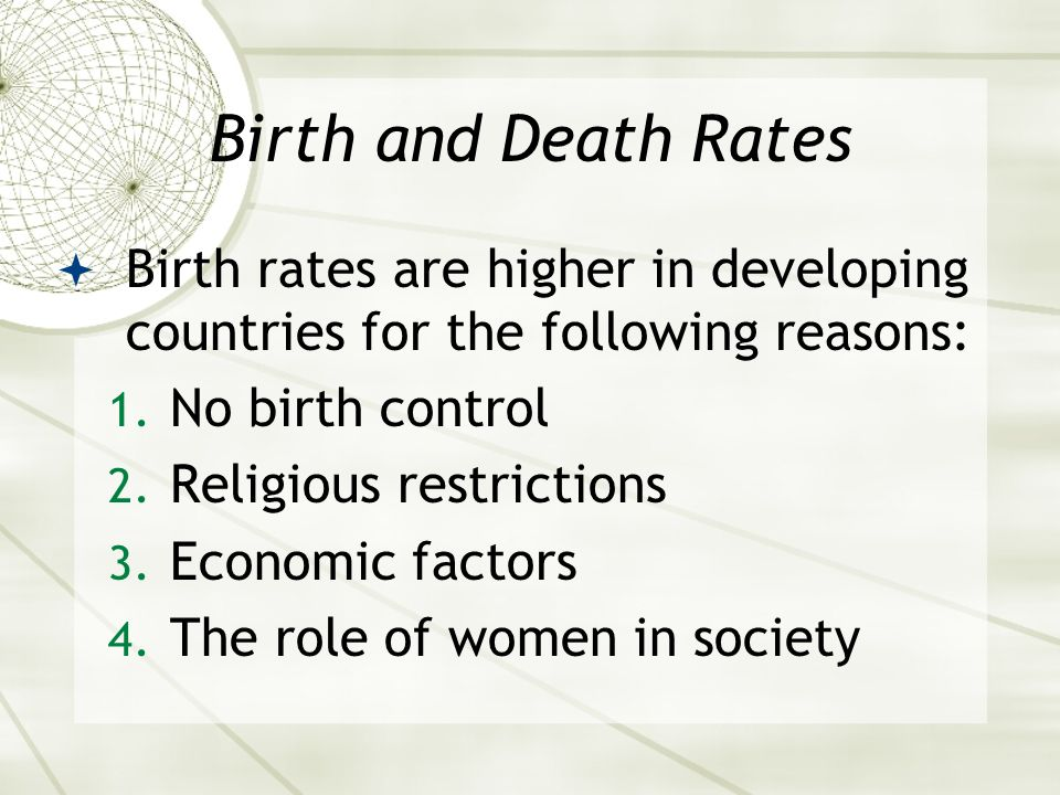 birth rates are falling in developed countries essay Why is birth-rate higher in developing countries as compared to developed why are birth rates dropping in developed countries brazil's falling birth rate.